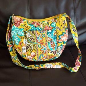 Vera Bradley crossbody hobo bag